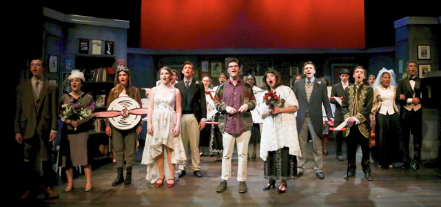Photograph from Packer's Upper School production of The Drowsy Chaperone