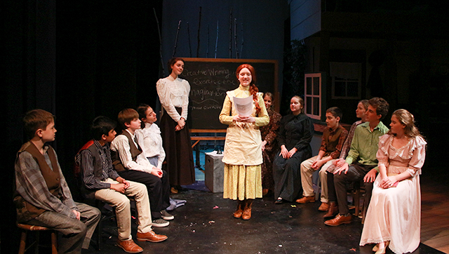Photograph from Packer's Upper School production of Anne of Green Gables