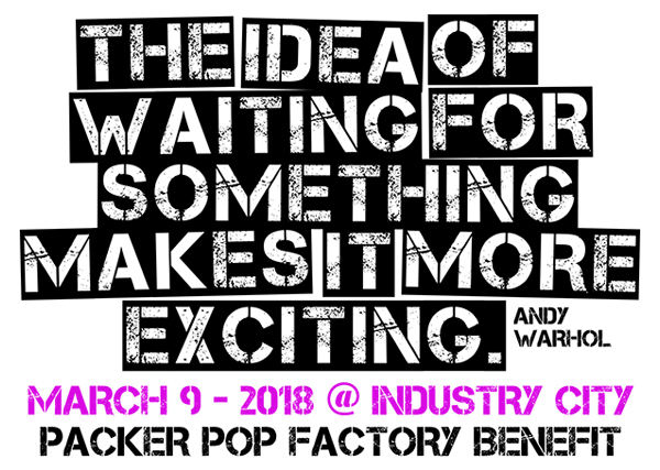 Packer 2018 Pop Factory Spring Benefit and Auction